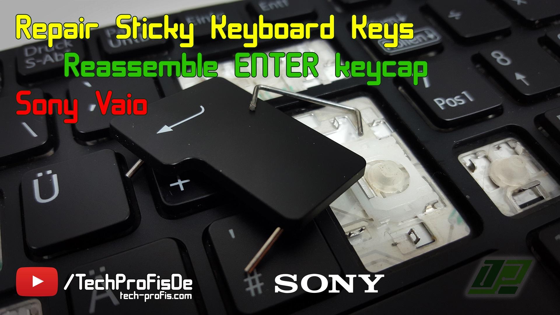 Notebook Defekt Taste reparieren / Laptop Tasten entfernen Einsetzen Anleitung