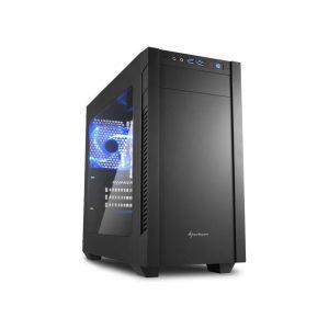 Gehäuse Sharkoon S1000 Window Mini ITX/Micro ATX schwarz mit Seitenfenster