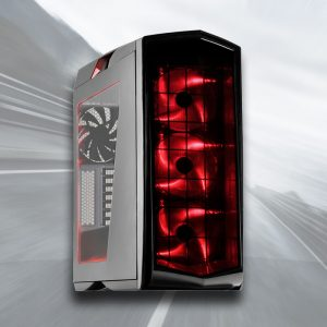 AMD Ryzen 4K Gaming PC (Ryzen 7 1800X, 16GB, GTX 1080 8GB, SSD)