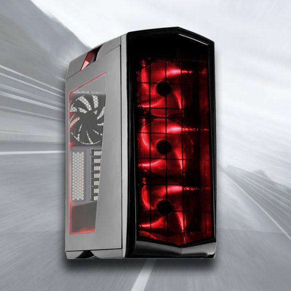 AMD Ryzen 4K Gaming PC (Ryzen 7 1800X, 16GB, GTX 1080 8GB, SSD)