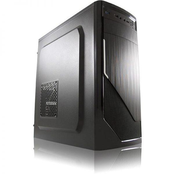günstig office PC LC-Power 7035B Midi Tower ohne Netzteil schwarz