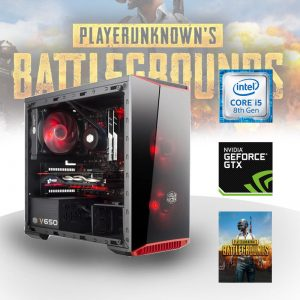 Gaming PC Intel Core i5 (Core i5-8400, 8GB, GeForce GTX 1050Ti 4G) PLAYERUNKNOWN'S BATTLEGROUNDS Edition
