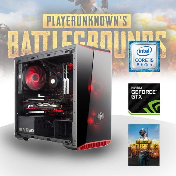 Gaming PC Intel Core i5 (Core i5-8400, 8GB, GeForce GTX 1050Ti 4G) PLAYERUNKNOWN'S BATTLEGROUNDS Edition