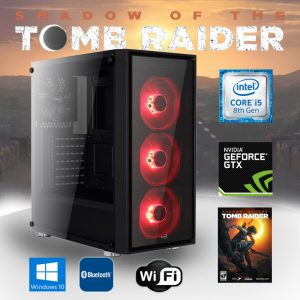 Gaming PC Intel Core i5 (Core i5-8600K, 16GB, GeForce GTX 1060 6GB) Shadow of the Tomb Raider Edition