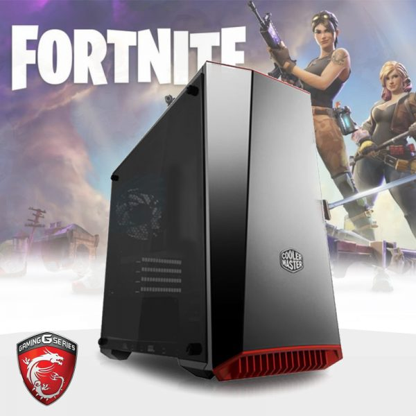 Gaming PC TG05 (Ryzen 3 2200G, 8GB, RX 560 4GB, SSD) Fortnite Edition