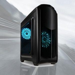 RGB Gaming PC TG04 (Ryzen 5 2400G, 8GB, Vega 11, 240GB SSD)