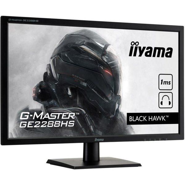 21,5 (54,61cm) iiyama G-MASTER GE2288HS-B1 schwarz 1920x1080 1xDVI 1xHDMI